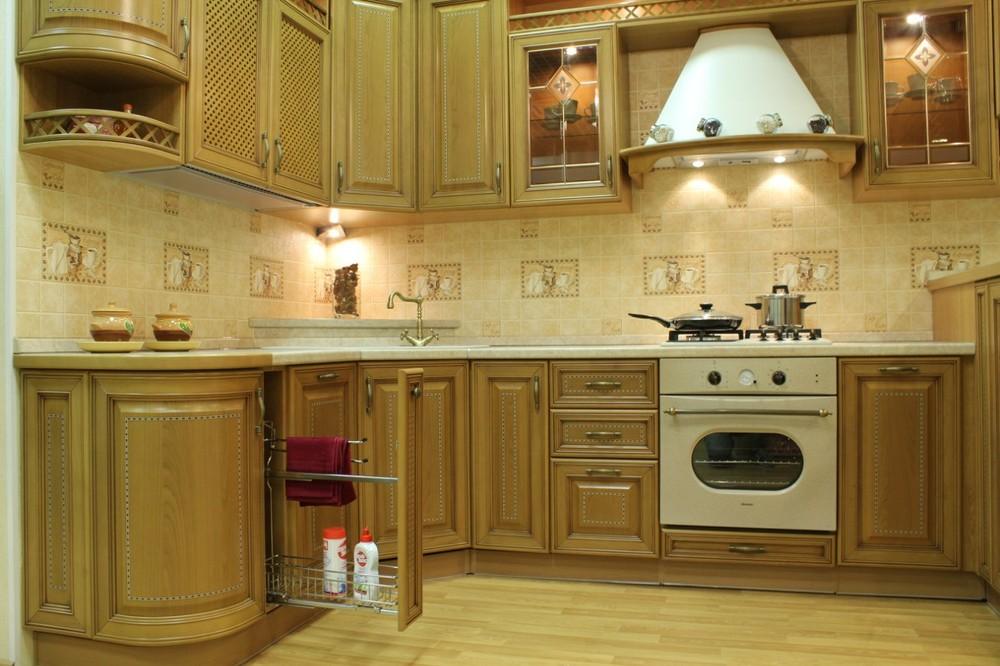 Классические кухни-Кухня из массива «Модель 127»-фото7