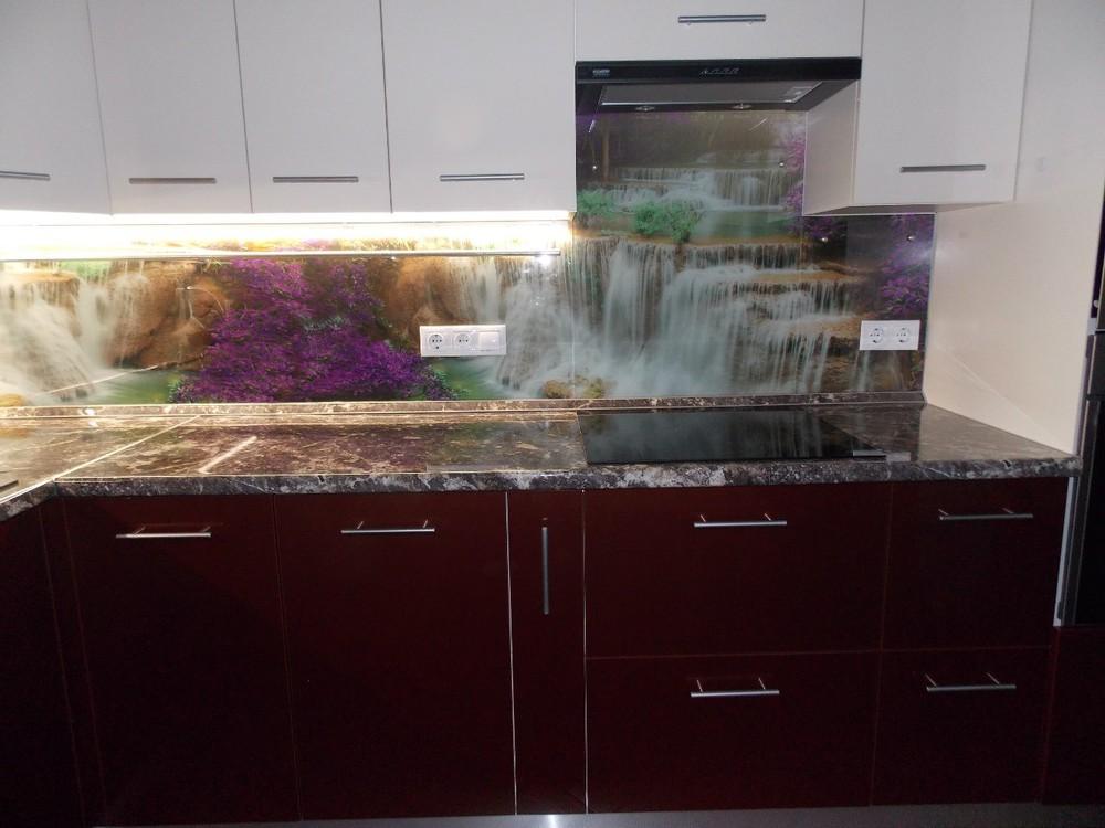 Акриловые кухни-Кухня из пластика «Модель 137»-фото10