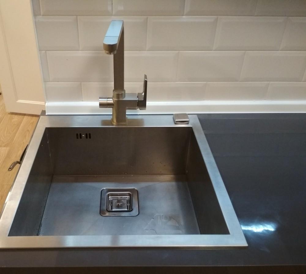 Акриловые кухни-Кухня МДФ в эмали «Модель 182»-фото10