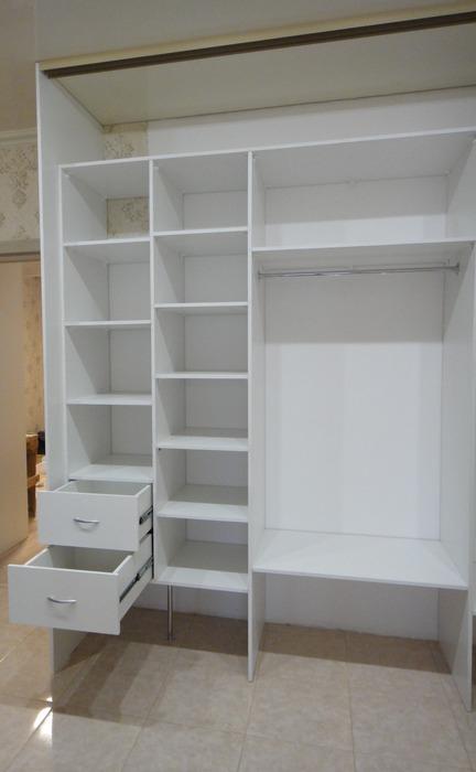 Белые шкафы-купе-Шкаф-купе с зеркалом «Модель 179»-фото5
