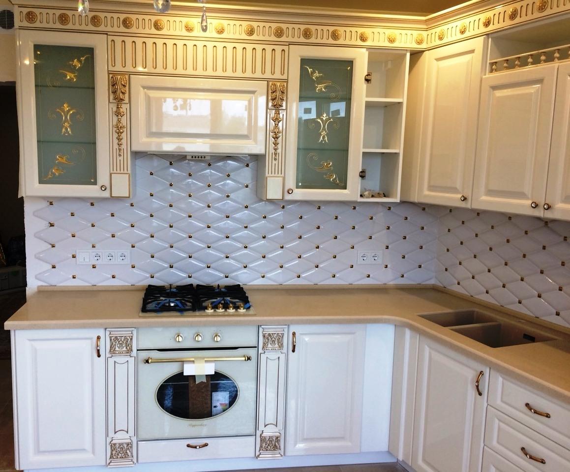 Купить кухню-Кухня МДФ в ПВХ «Модель 11»-фото2
