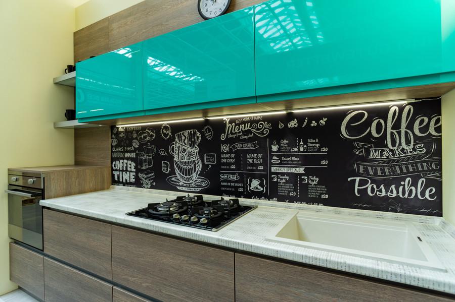 Встроенная кухня-Кухня МДФ в пластике «Модель 49»-фото3