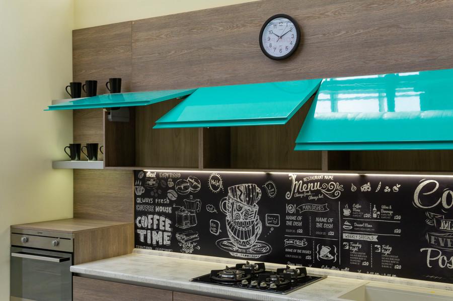 Встроенная кухня-Кухня МДФ в пластике «Модель 49»-фото6