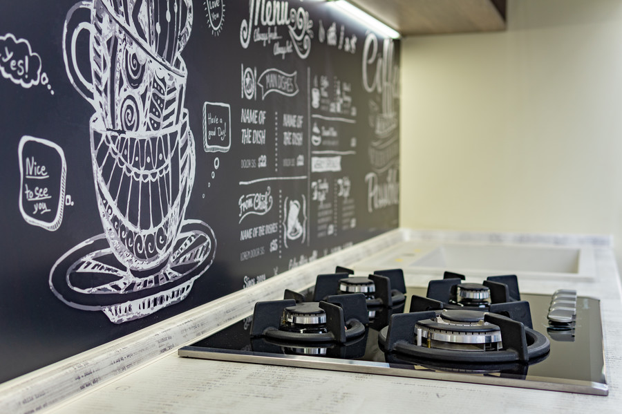 Встроенная кухня-Кухня МДФ в пластике «Модель 49»-фото8