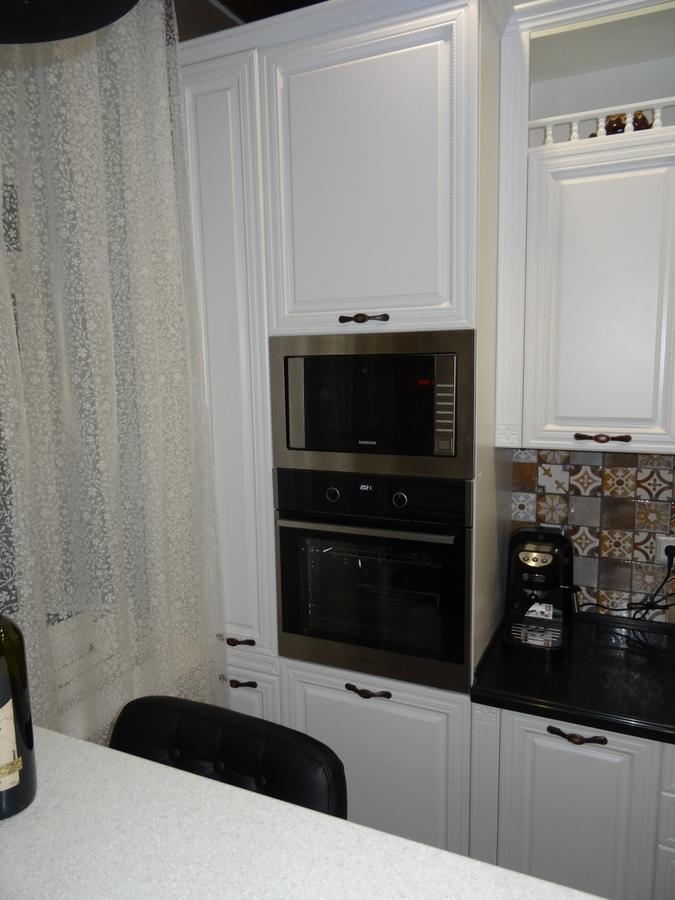 Встроенная кухня-Кухня МДФ в эмали «Модель 20»-фото2