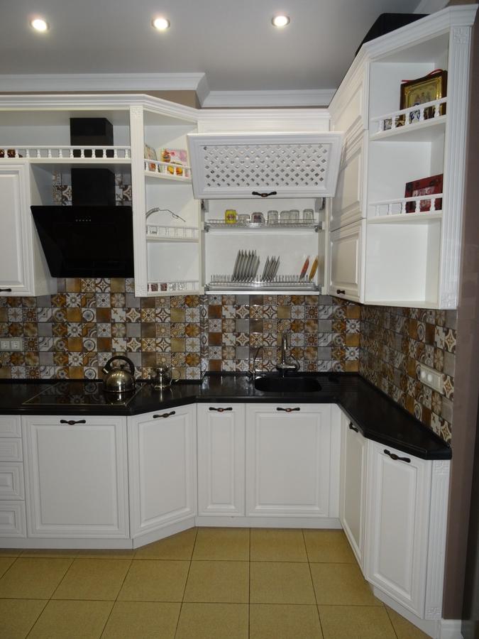 Встроенная кухня-Кухня МДФ в эмали «Модель 20»-фото5