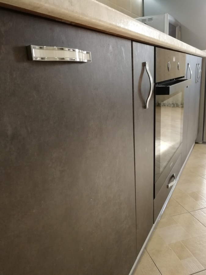 Комбинированные кухни-Кухня МДФ в ПВХ «Модель 27»-фото6