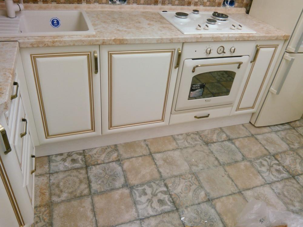 Белый кухонный гарнитур-Кухня МДФ в ПВХ «Модель 340»-фото8
