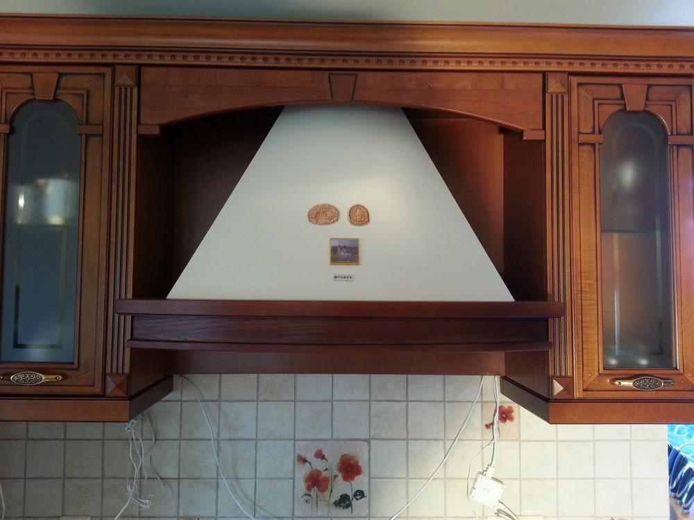 Встроенная кухня-Кухня из массива «Модель 291»-фото3