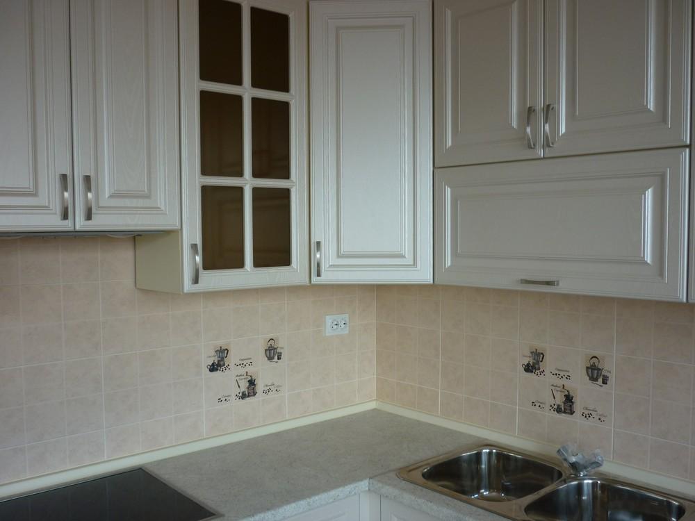 Белый кухонный гарнитур-Кухня МДФ в ПВХ «Модель 169»-фото3