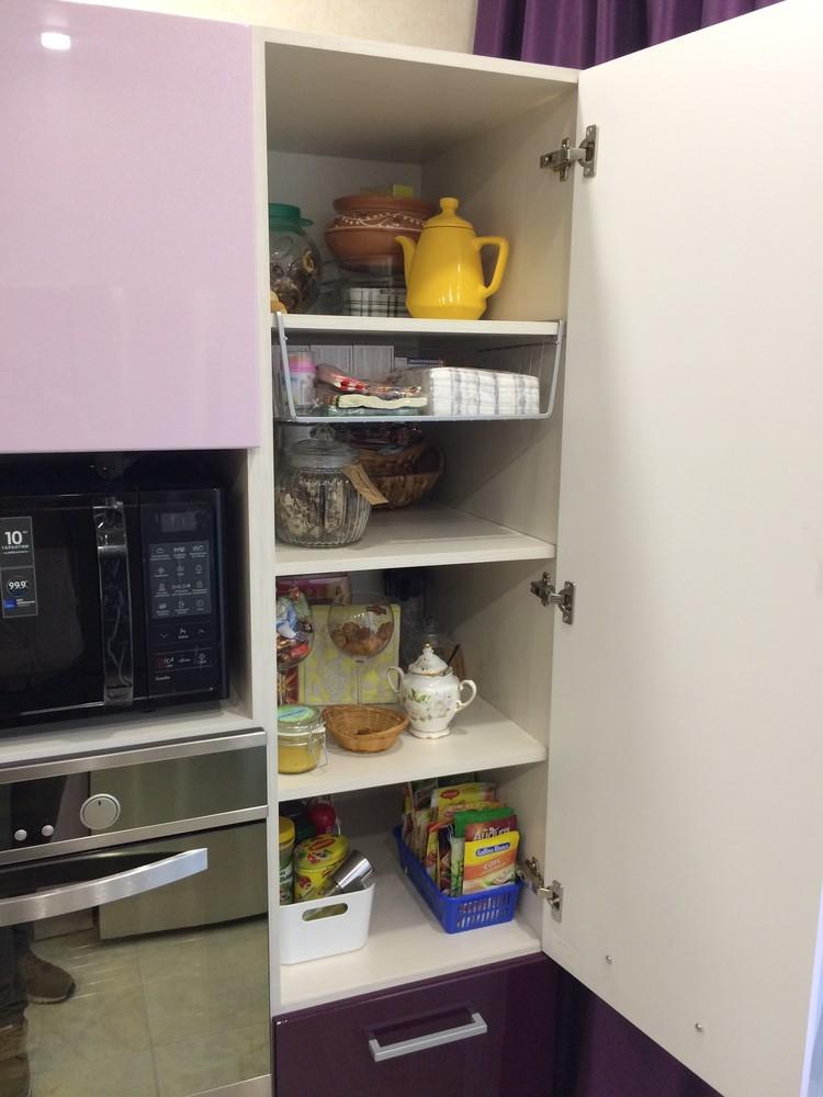 Акриловые кухни-Кухня из пластика «Модель 110»-фото6