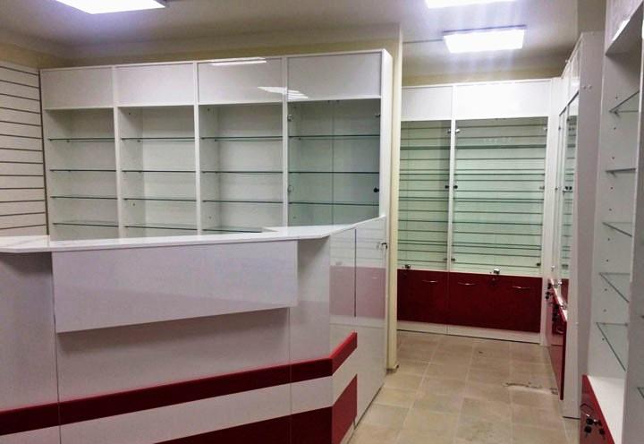 Торговая мебель-Мебель для аптеки «Модель 184»-фото4