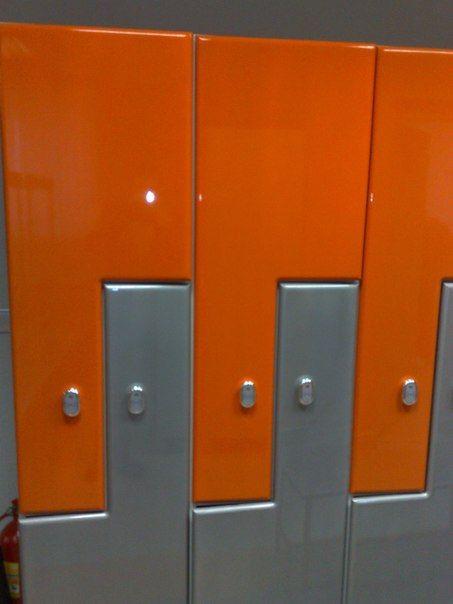 Торговая мебель-Шкафчики для раздевалки «Модель 170»-фото3