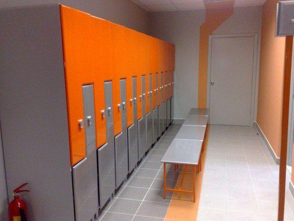 Торговая мебель-Шкафчики для раздевалки «Модель 170»-фото4