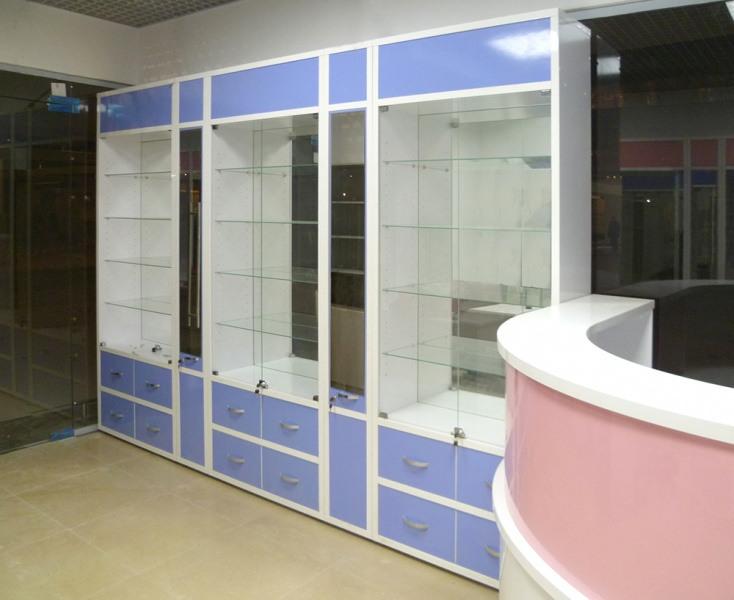 Торговая мебель-Мебель для оптики «Модель 212»-фото3