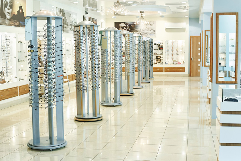 Торговая мебель-Мебель для оптики «Модель 207»-фото3
