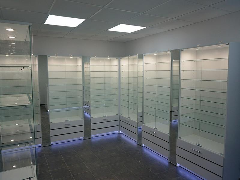 Торговая мебель-Мебель для оптики «Модель 214»-фото2