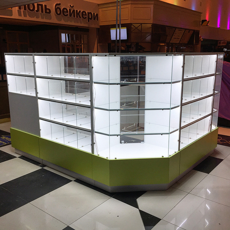 Торговая мебель-Торговый островок «Модель 262»-фото2