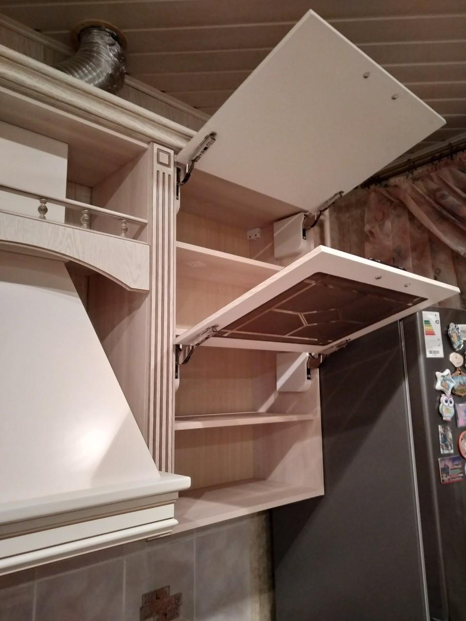 Белый кухонный гарнитур-Кухня МДФ в ПВХ «Модель 547»-фото8