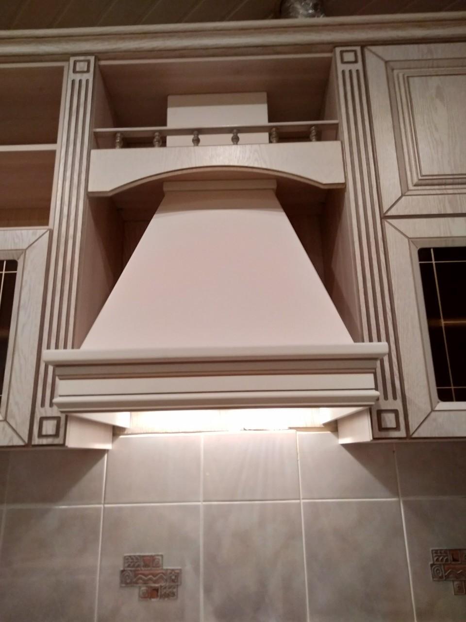 Белый кухонный гарнитур-Кухня МДФ в ПВХ «Модель 547»-фото9