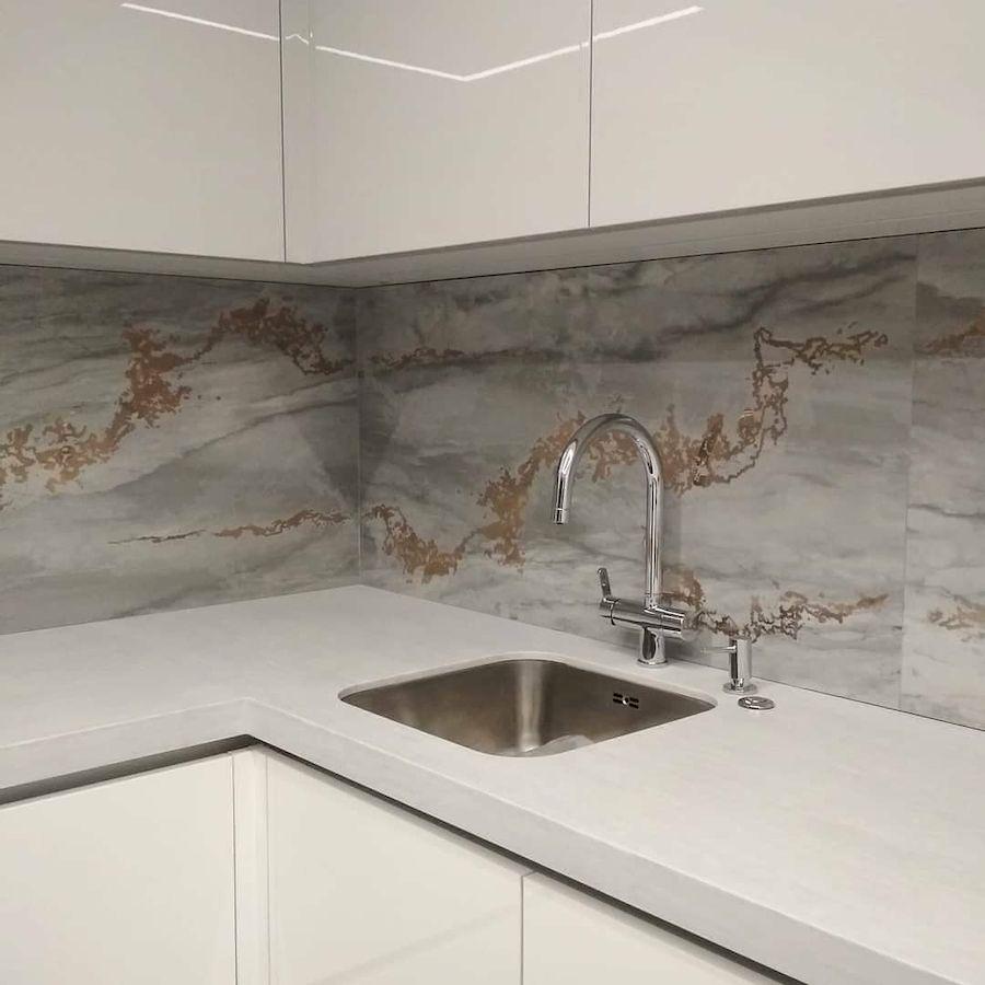 Акриловые кухни-Кухня из акрила «Модель 646»-фото8
