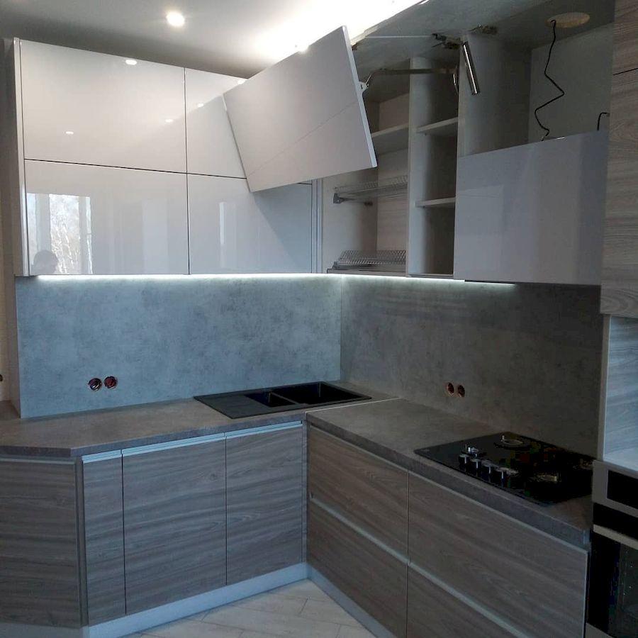 Белый кухонный гарнитур-Кухня из ЛДСП «Модель 653»-фото4