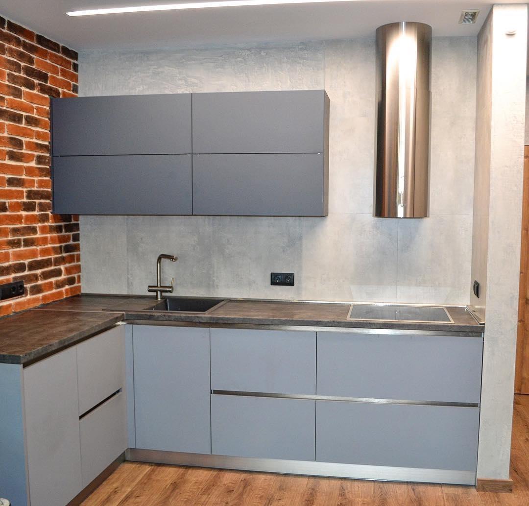 Купить кухню-Кухня МДФ в ПВХ «Модель 623»-фото1
