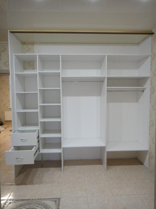 Белые шкафы-купе-Шкаф-купе с зеркалом «Модель 179»-фото6