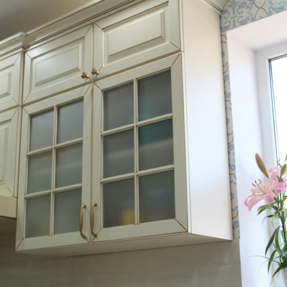 Встроенная кухня-Кухня МДФ в ПВХ «Модель 154»-фото3