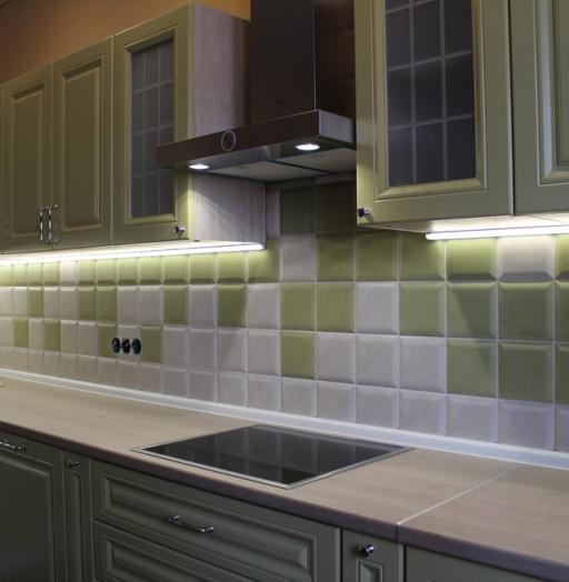 Классические кухни-Кухня МДФ в ПВХ «Модель 91»-фото9