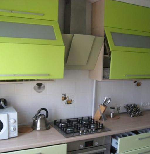 Встроенная кухня-Кухня МДФ в эмали «Модель 103»-фото3