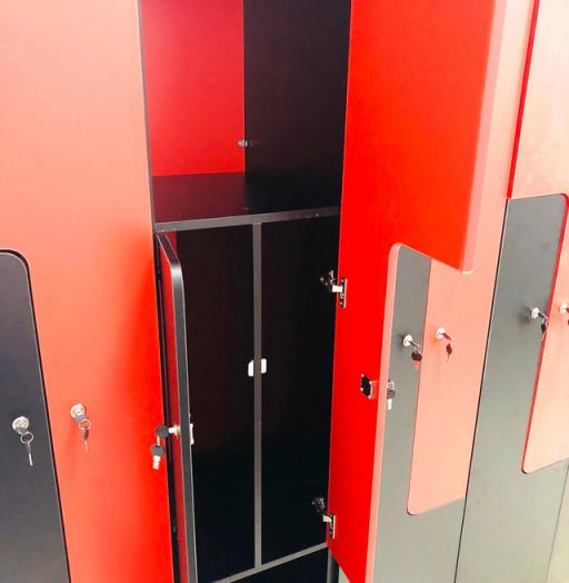 Торговая мебель-Шкафчики для раздевалки «Модель 162»-фото3