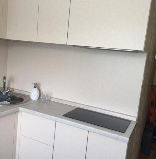 Белый кухонный гарнитур-Кухня из ЛДСП «Модель 390»-фото4