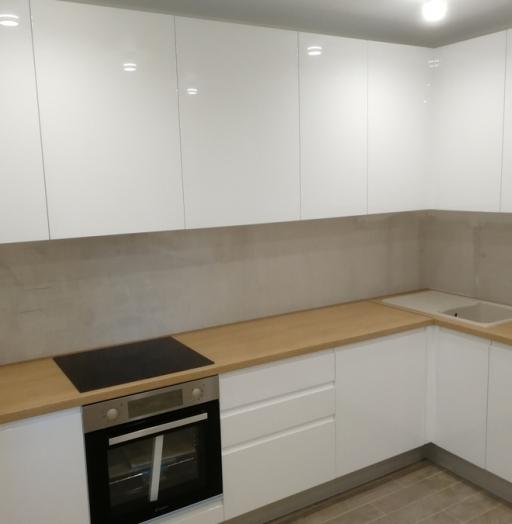 -Кухня МДФ в эмали «Модель 433»-фото18