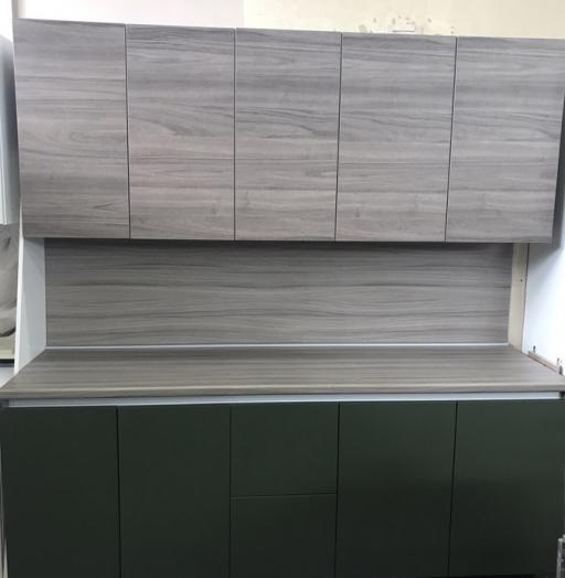 Встроенная кухня-Кухня МДФ в ПВХ «Модель 64»-фото5