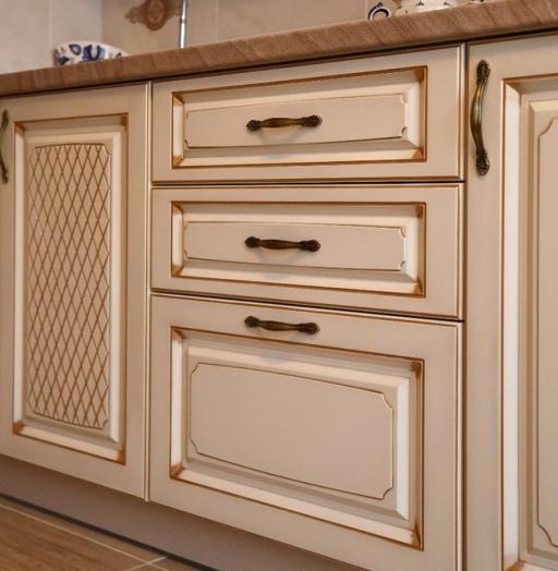 Акриловые кухни-Кухня из пластика «Модель 135»-фото7