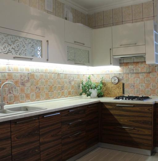 Акриловые кухни-Кухня МДФ в эмали «Модель 174»-фото6