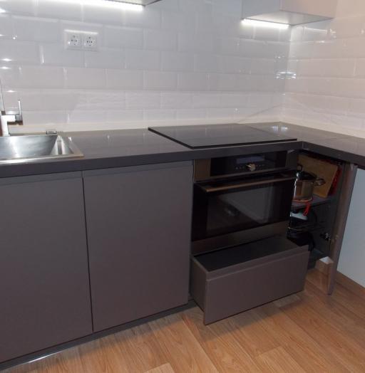 -Кухня МДФ в эмали «Модель 182»-фото21
