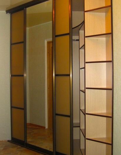 Большой шкаф-купе-Шкаф-купе с зеркалом «Модель 19»-фото3
