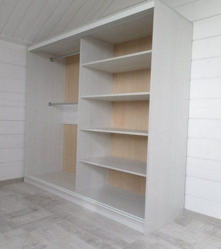 Белые шкафы-купе-Шкаф-купе с фотопечатью «Модель 129»-фото2
