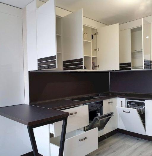 -Кухня из шпона «Модель 560»-фото23
