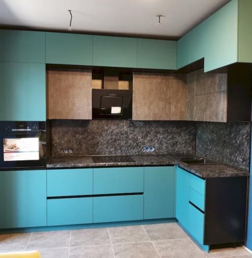-Кухня МДФ в ПВХ «Модель 576»-фото14