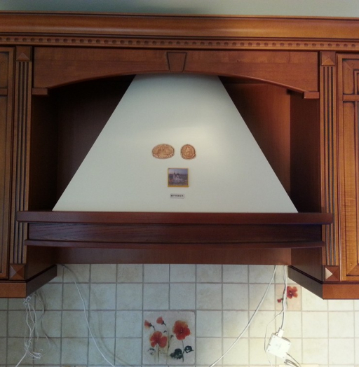 Встроенная кухня-Кухня из массива «Модель 291»-фото5